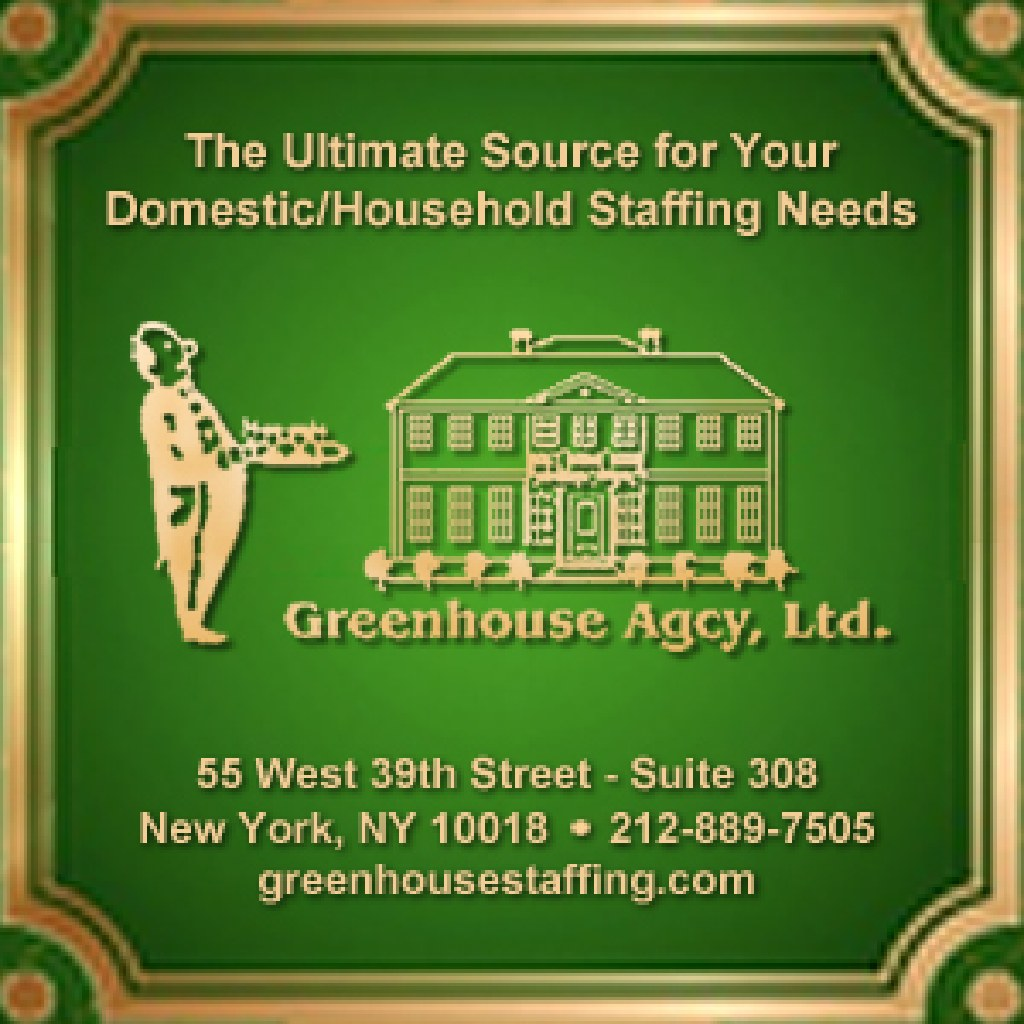 Cook/Housekeeper: Live-Out GREENWICH, CT!