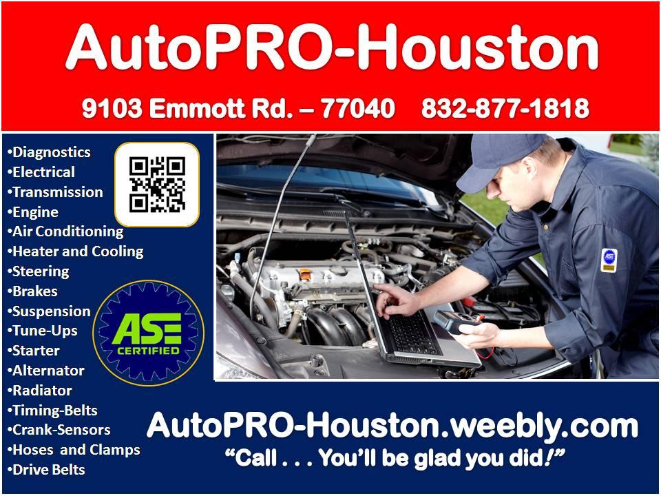 A/C   Engine   Transmission   Electrical   Suspension   Diagnostics and Repair
