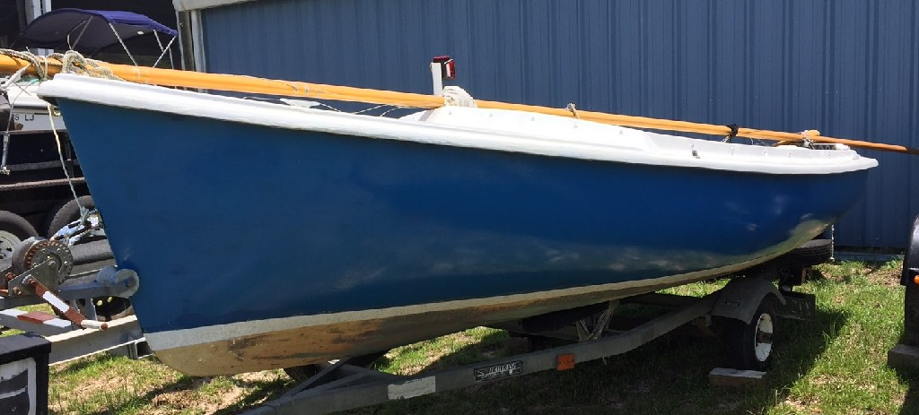 1973 O'Day Javelin Sailboat