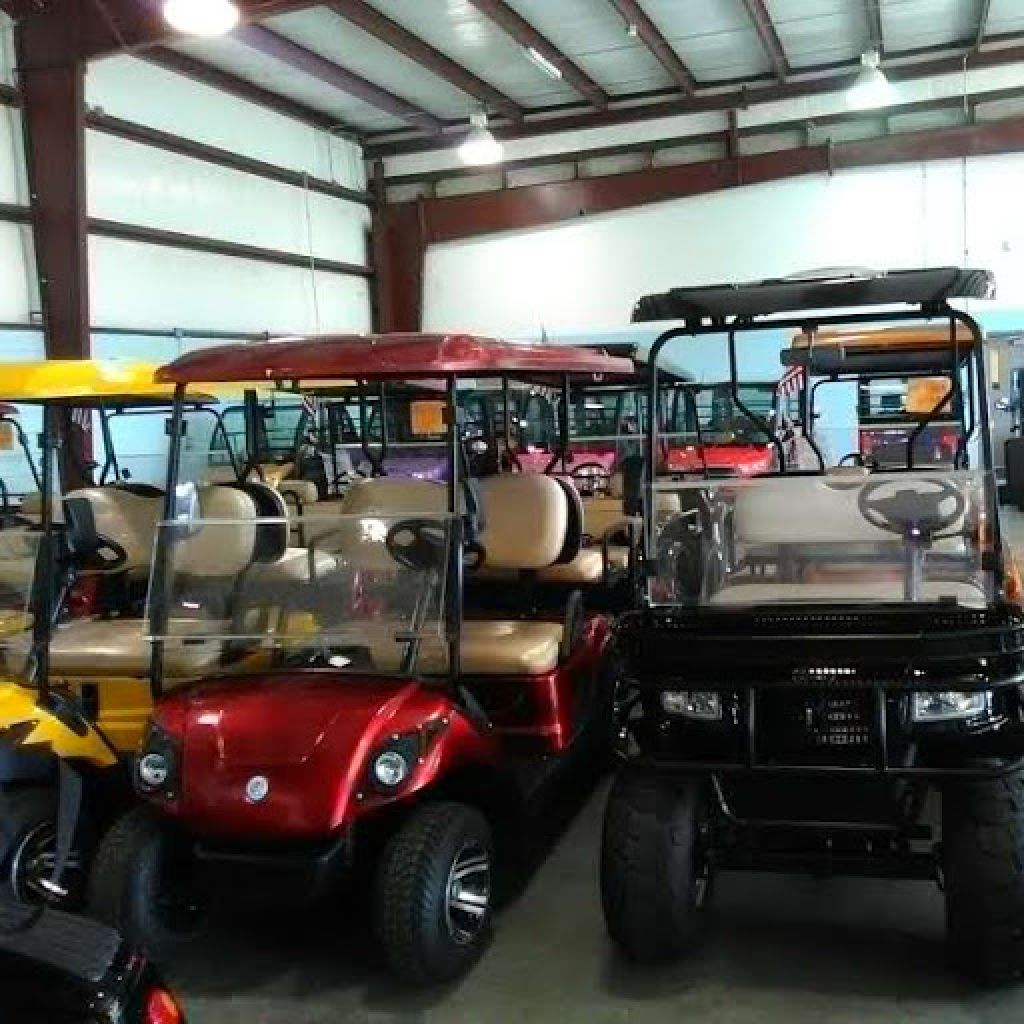 NEW CROWN CARTS ELECTRIC GOLF CART-CARS A/C RADIO & MORE