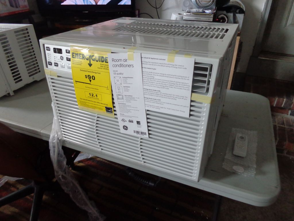 GE Window Air Conditioners AC - 5,000BTU, 6,000, 8,000, 12,000, and 14,000 BTU