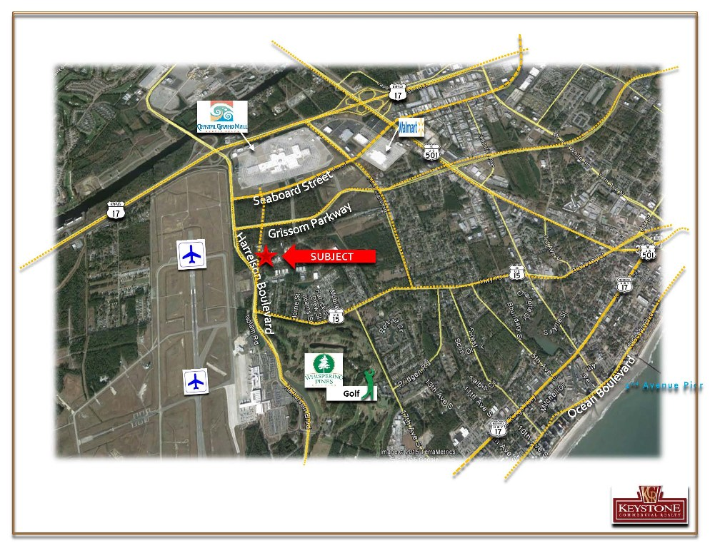 Harrelson Corner-Land For Lease-Myrtle Beach-Keystone Commercial Realty