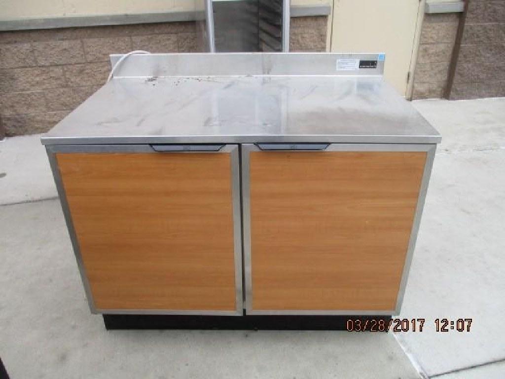 Duke RUF-48M, 2 Door Undercounter Refrigerator RTR#7033418-09