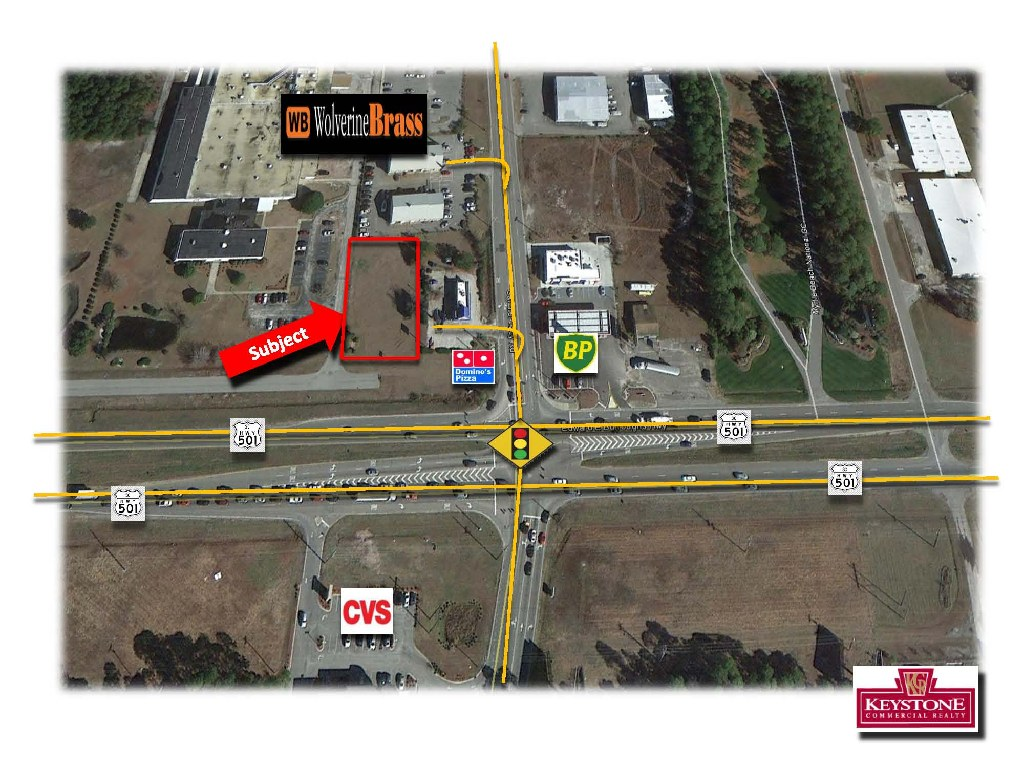Wolverine Outparcel- 0.58 Acres-For Sale-Myrtle Beach