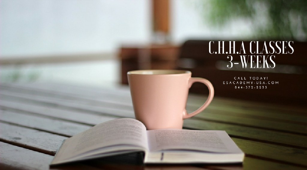 Today is a New Day - 3-Week C.H.H.A Classes