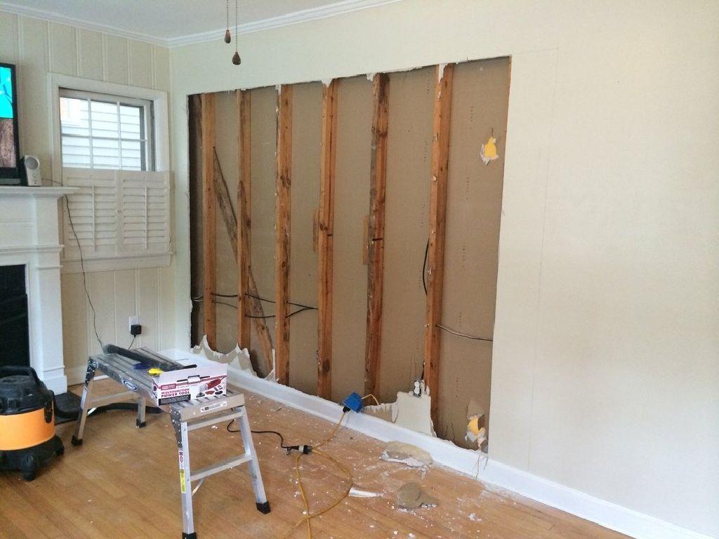 Dry wall / sheetrock demo - All Demolition