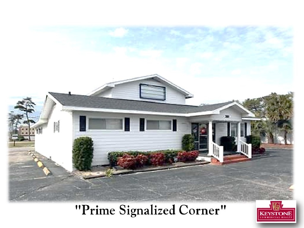Petit Tract-3,600 sf Building-Property For Sale, North Myrtle Beach-Keystone Commercial Realty