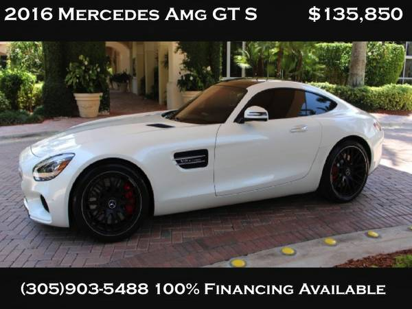 ** 2016 MERCEDES BENZ GTS LIKE NEW **