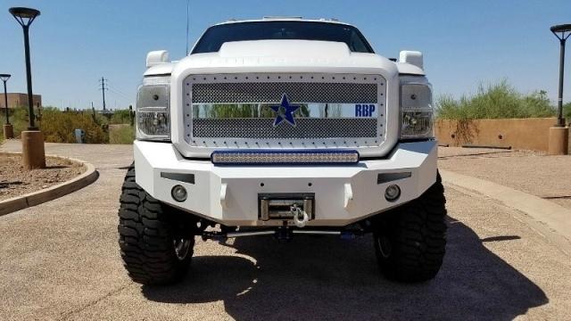 2011 Ford Super Duty 4WD F-250 Lariat Custom Sema Truck Lift