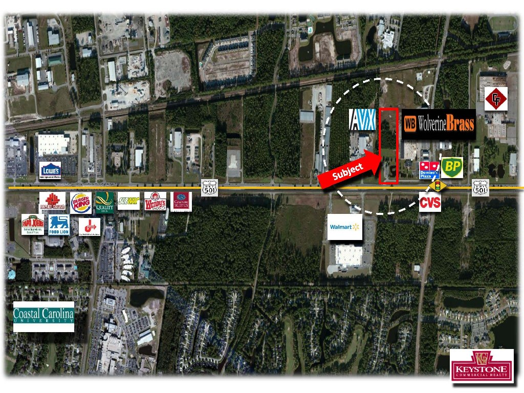 Wolverine Brass TPC Tract-9.69 Acres-For Sale-Myrtle Beach-Keystone Commercial Realty