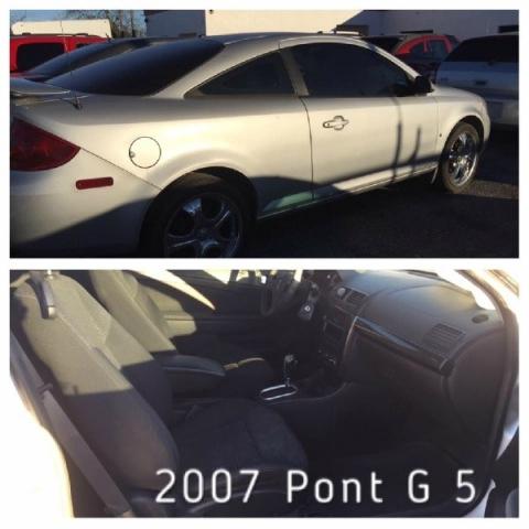 2007 Pontiac G5 2dr Cpe