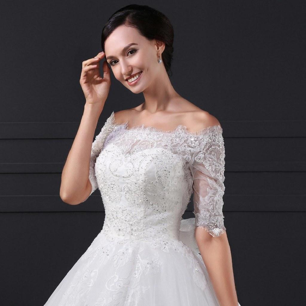Callie's Lace A Line Wedding Dress