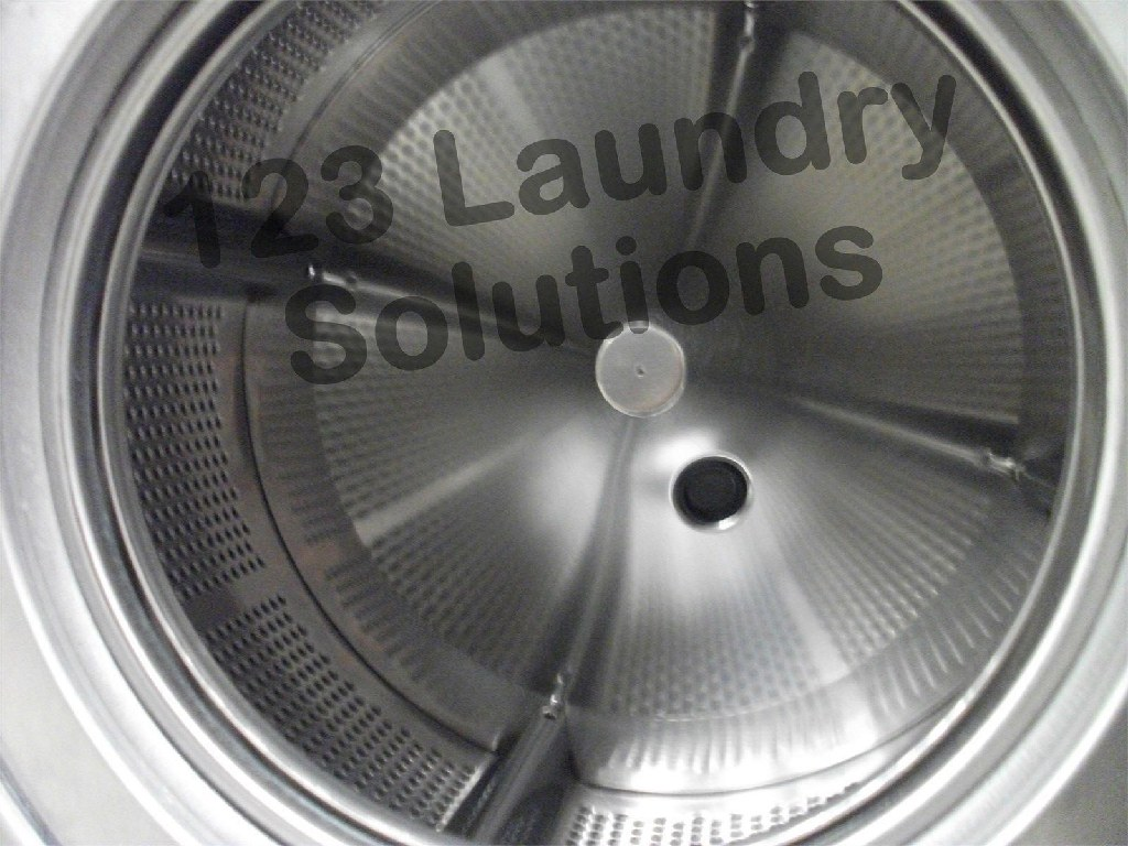 Coin Laundry Dexter Triple Load T400 Front Load Washer 220 3PH Stainless Steel Used