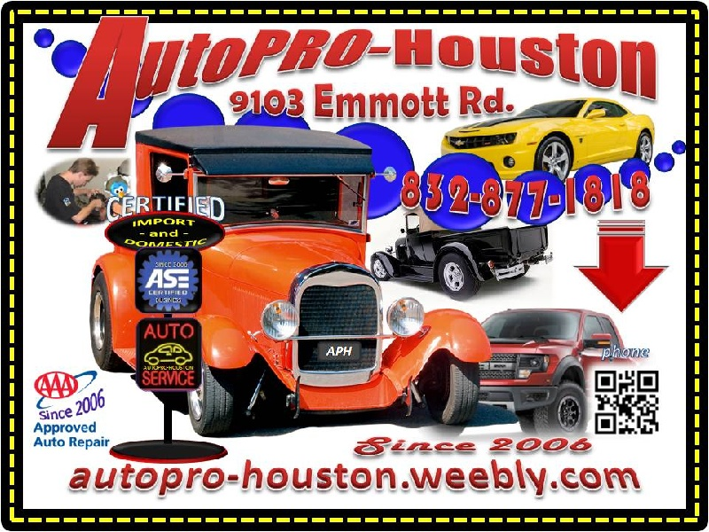 Repairs and Services for Less @ AutoPRO-Houston