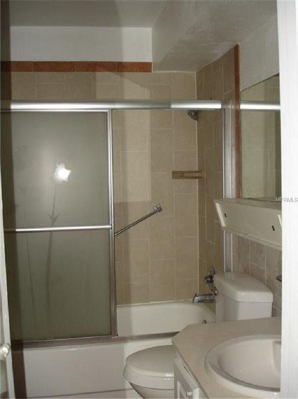 55+ community. Very nice remodeled 2 bedroom 2 bath on ground floor