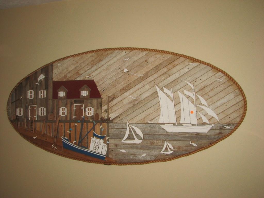 Nautical-Themed Lath Art - $250