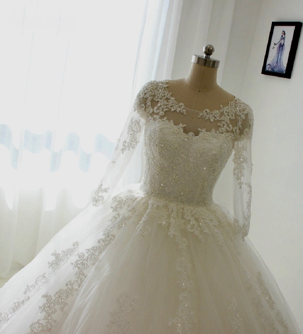 Terry's A Line Lace Wedding Dress