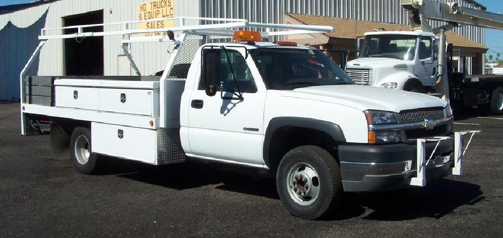 2003 Chevrolet 3500 *18K Miles* Contractor Body