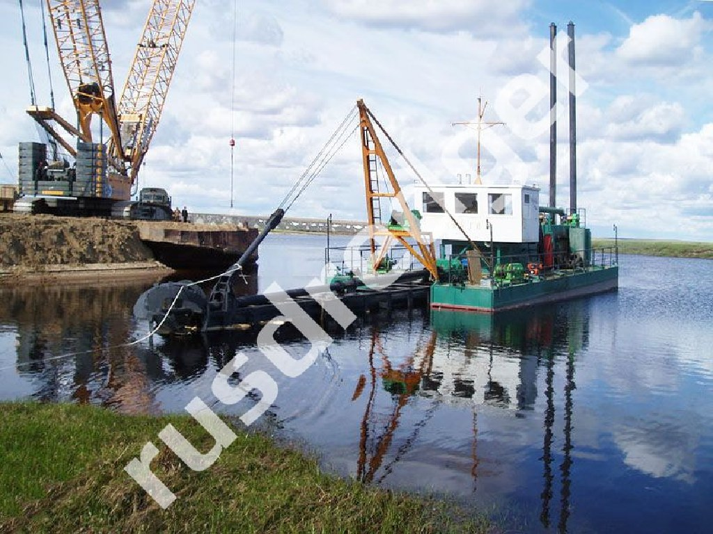 Dredger 2400 by URAL HYDROMECHANICAL PLANT, CJSC