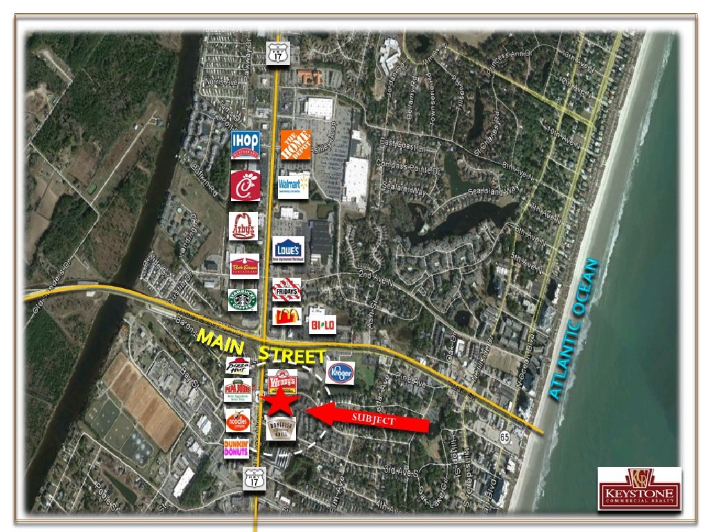 Chapman Tract-1.52 Acres For Sale-North Myrtle Beach-Keystone Commercial Realty