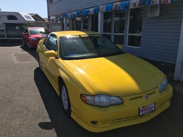 2003 Chevrolet Monte Carlo 2dr Cpe SS