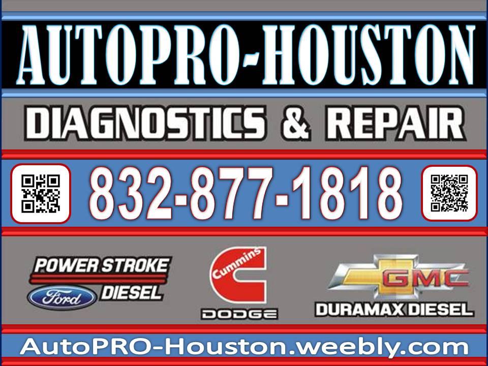 Brakes. Transmission. Engine Repairs. AutoPRO-Houston 9103 Emmott Rd. Harris County