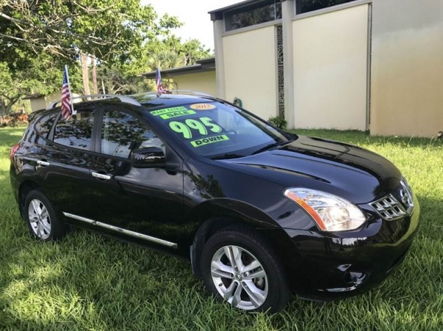 2013 Nissan Rogue SV w/SL Package AWD 4dr Crossover
