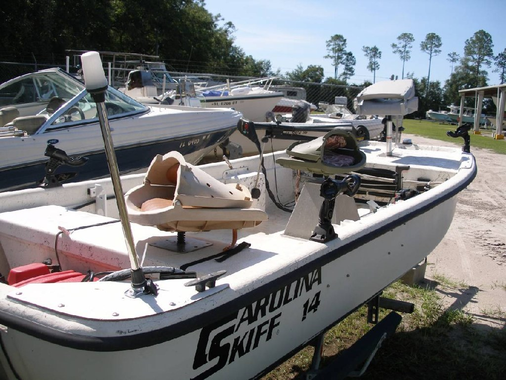 1994 Carolina Skiff Stick Steer