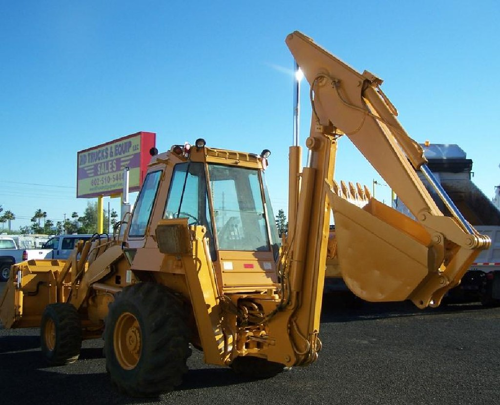 Case 780 B, Loader Backhoe