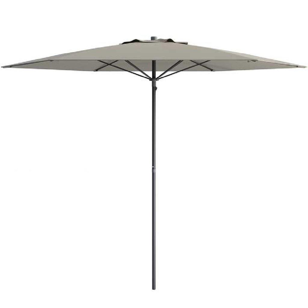 Grey UV and Wind Resistant Patio Umbrella