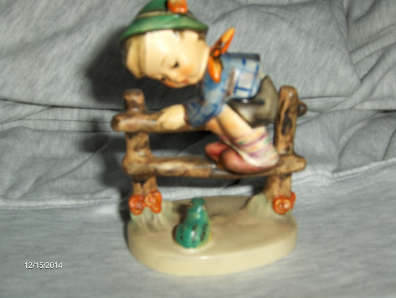 "Vintage Very Rare M.I. Hummel ""Retreat to Safety"" Figurine"