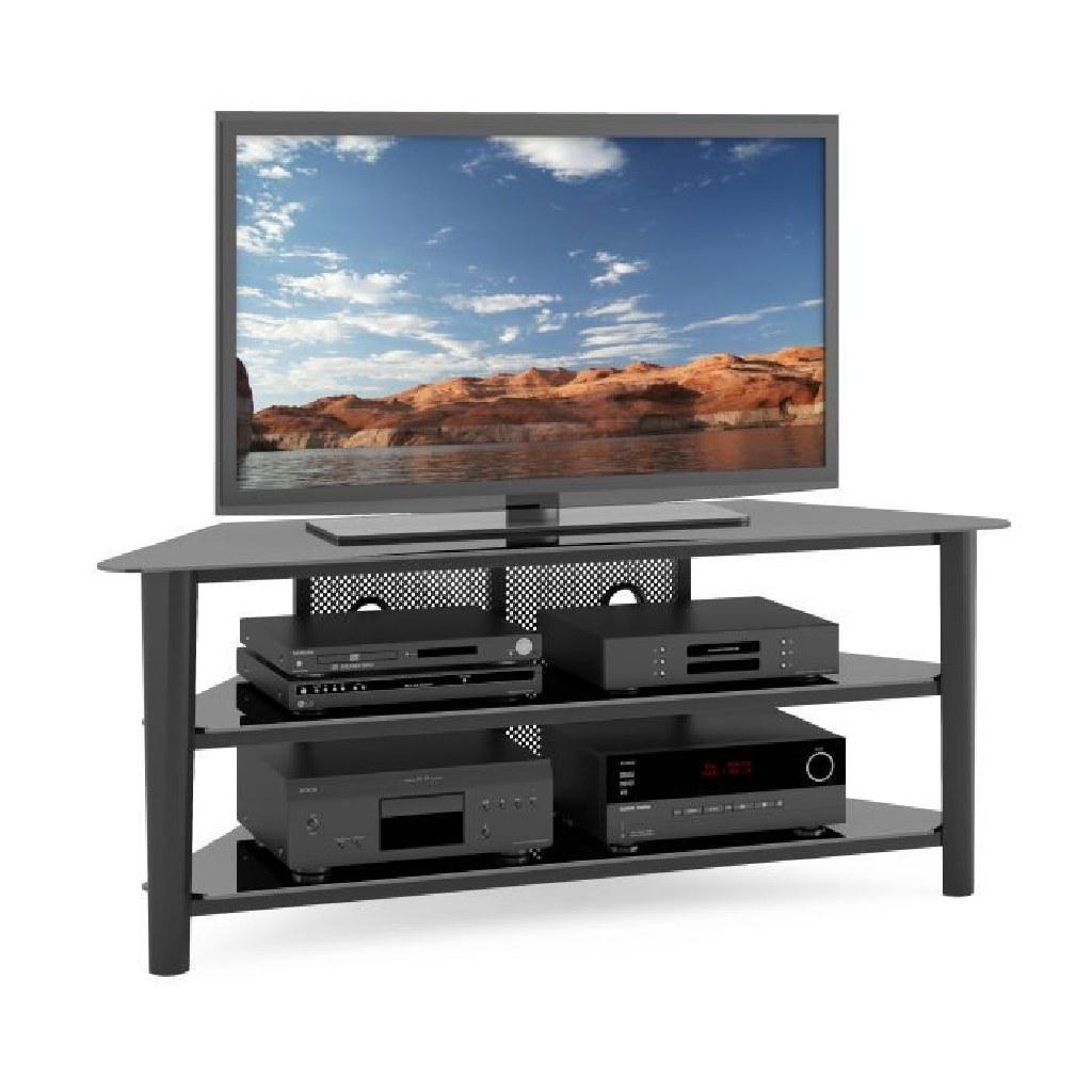 Veneer TV Stand- Black