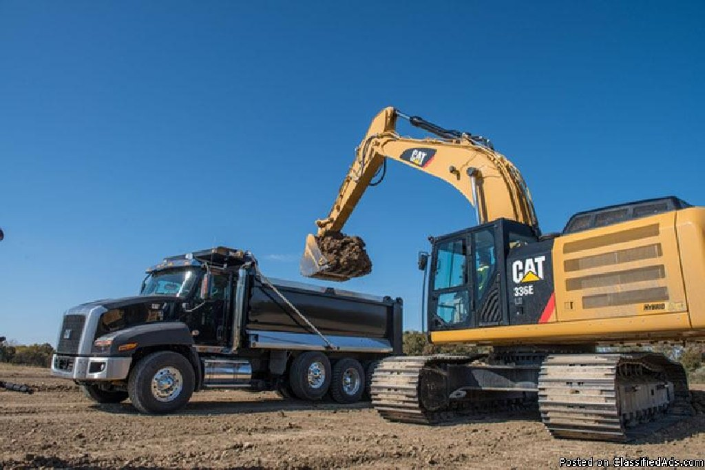 Dump truck & heavy equipment financing for all credit situations