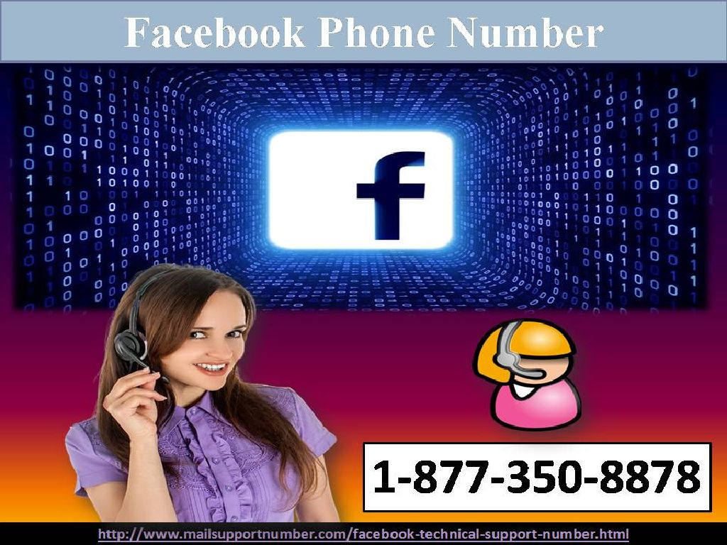 Can I Get Better Service At Facebook Phone Number 1-877-350-8878?