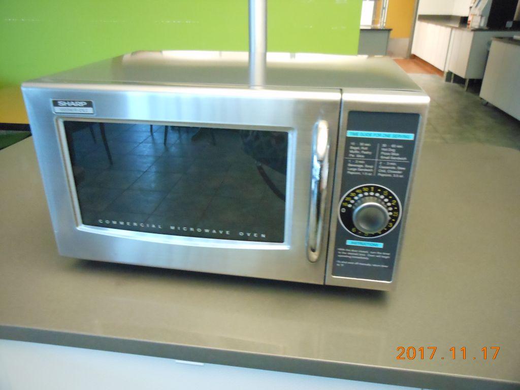 Fridge's and microwaves