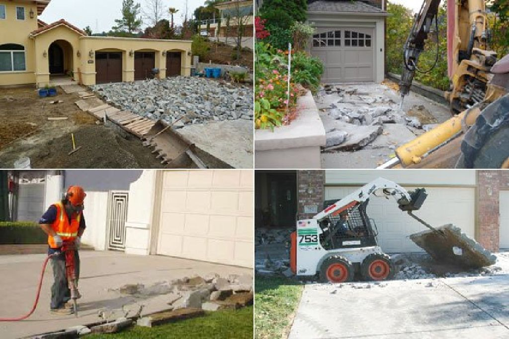 Slab Removal / Concrete Demolition - All Demo