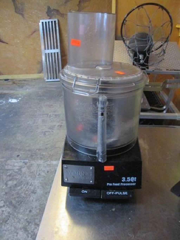 Waring Food Processor & Cescor Heat Lamp RTR# 7013457-09