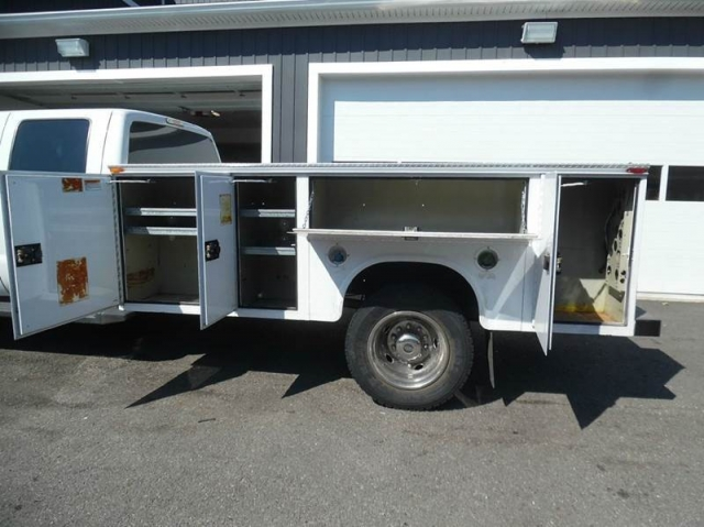 2012 Ford F550 SUPER DUTY Diesel Crew Cab Service/Utility Truck