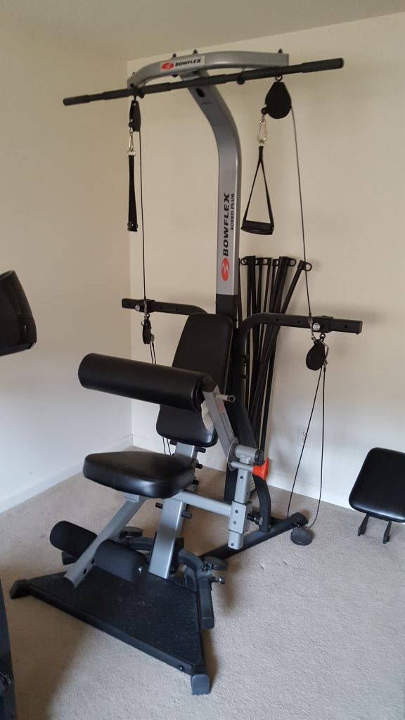 Bowflex resistance body building machine