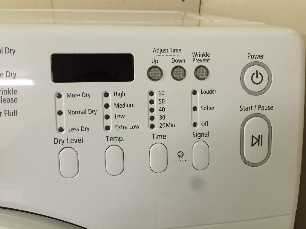 Samsung Electric Dryer
