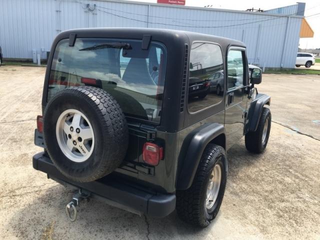 2002 Jeep Wrangler 2dr X
