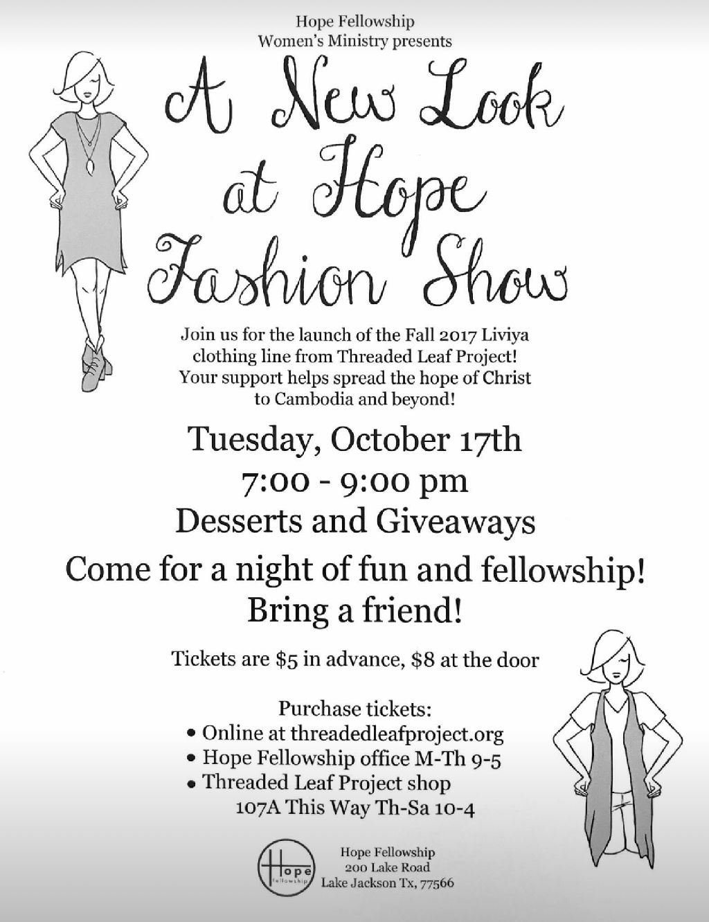 Fashion Show presented by Threaded Leaf Project