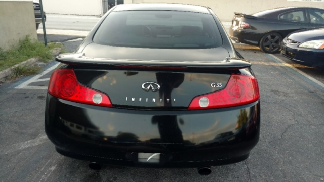 2003 Infiniti G35 Coupe 2dr Cpe Manual w/Leather