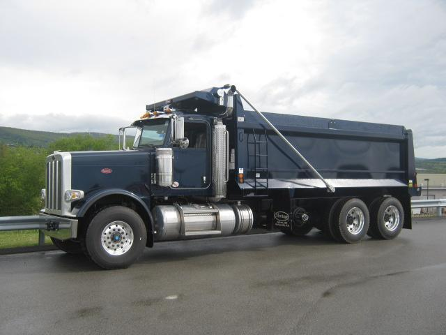 Dump truck financing is available for all credit types
