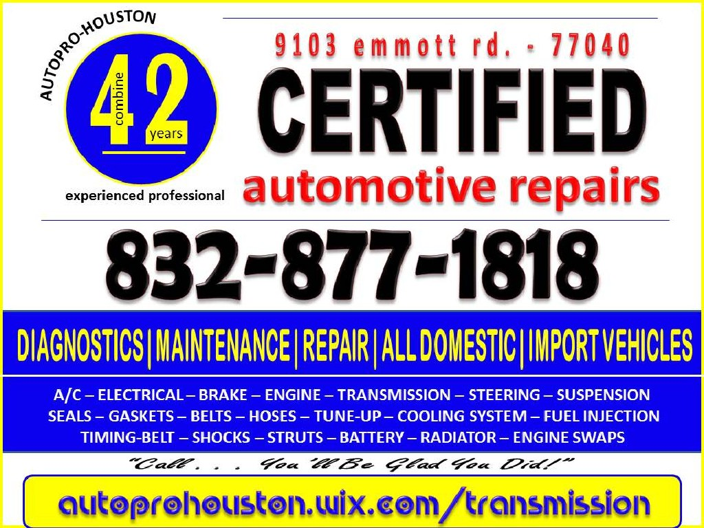Auto Repair Shop Houston TX in Harris County