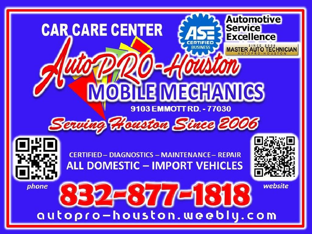 Mobile Mechanics Jersey Village, TX