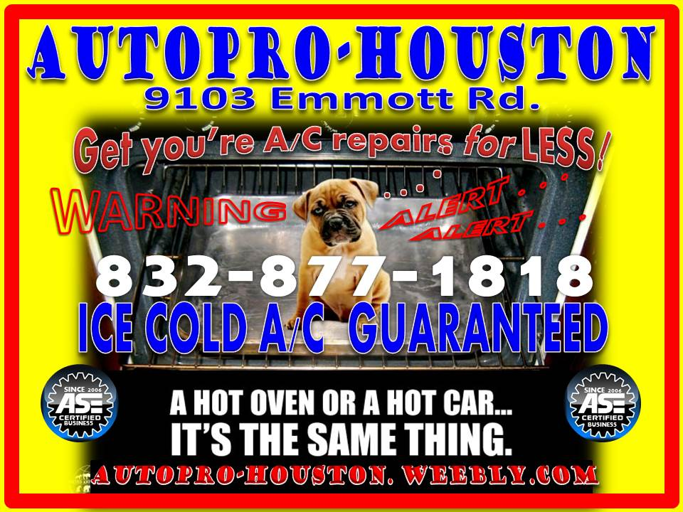 AutoPRO-Houston Does it ALL for LESS . . . Transmission | Engine | Electrical Repairs