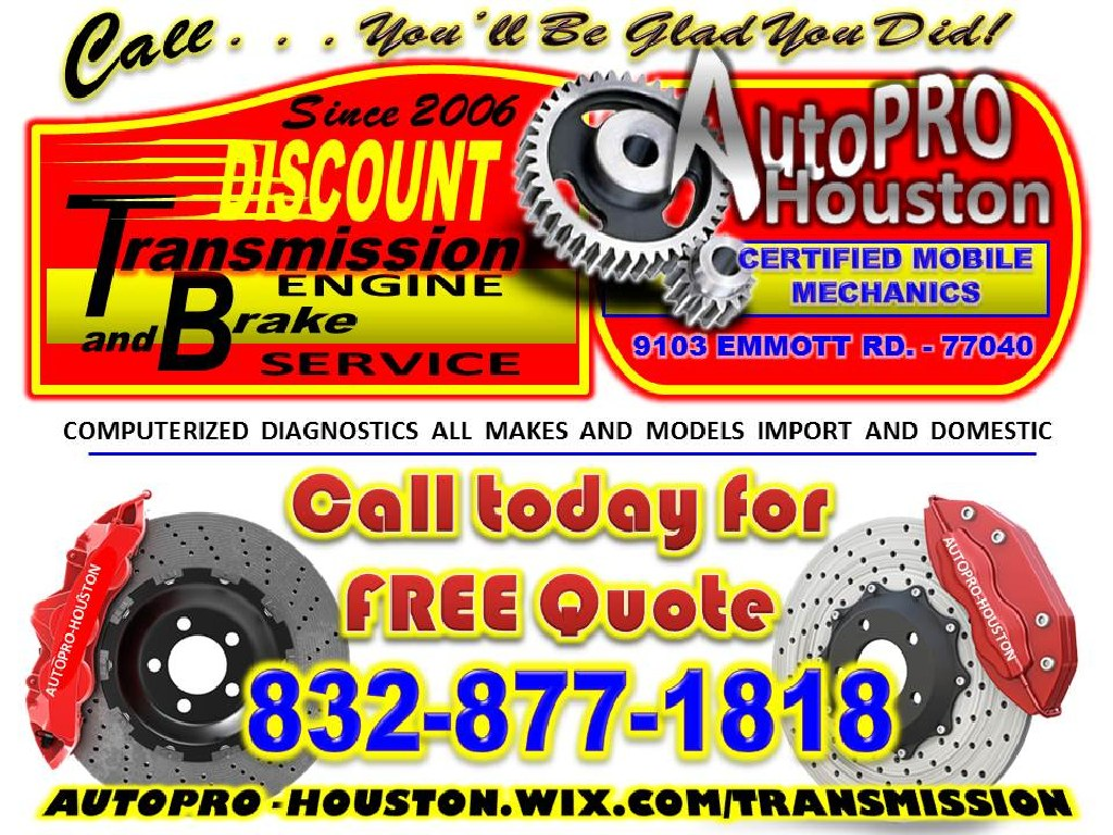Certified Automotive Transmission Repair Shop with Mobile Mechanics to Serve You