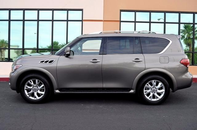 2013 Infiniti QX56 4WD Rear Entertainment - Navigation - Quad Seats