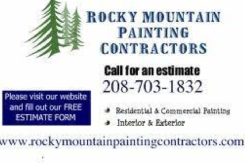 Rocky Mountain Painting (208)703-1832